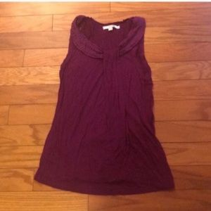 Boden Purple Sleeveless Top